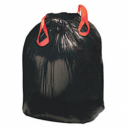 Drawstring Trash Can Liner, 30 gal., PK200