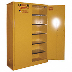 Paints and Inks Cabinet, 60 Gal., Yellow