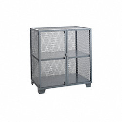 Mesh Security Cabinet, Yellow