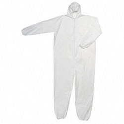 Hooded Polyolefin, White, Boots, 2XL
