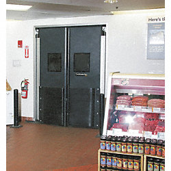 Commercial Impact Door, 7x5 Ft