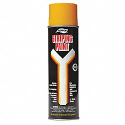 Athletic Striping Paint, Yellow, 20oz, PK12