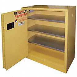Flammable Cabinet, 40 Gal., Yellow