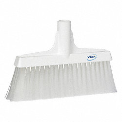 Synthetic Lobby Broom, White, 9-1/2 In