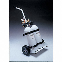 Air Cylinder Cart, 2 Cylinders, 2216 psi
