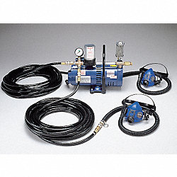 Supplied Air Pump Package, 2 Ppl, 3/4 HP