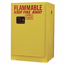 Safety Cabinet, Flammable, 12 gal.