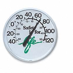 Weather Thermometer, Safety is for Life