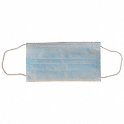 Ear Loop Mask Blue, PK 50
