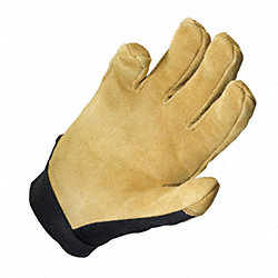Mechanics Gloves, Black/Tan, M, PR