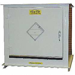 Storage Locker, 2 Hr. Rated, 2x55 Gal. Cap
