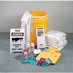 Spill Kit, Drum, 25 gal., Maint.