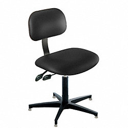 Industrial Task Chairs, 300 lb., Black