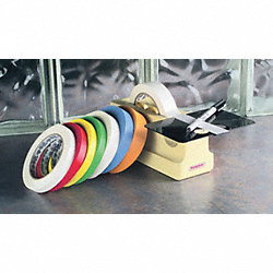 Label Marking Tape, 1In W, 120 ft. L, 3In D