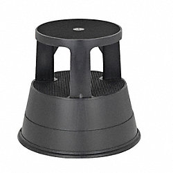 Step Stool, Black, 15