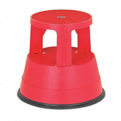 Step Stool, Red, 15