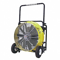 Pressure Ventilation Blower, Gas, 19 In. W