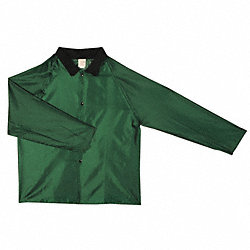Rain Jacket, Green, 2XL