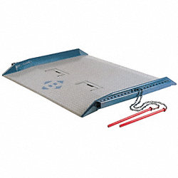 Steel Dock Board, 15, 000 lb, 60 In x 78 In