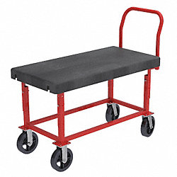 Platform Truck, 24in x 48in, Adj Height