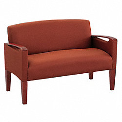 Love Seat, Medium Finish, Cedar