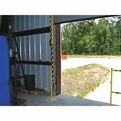 Lift Gate, Steel, Length 6 Ft