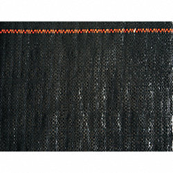 Weed Barrier, Black, Size 3 x 300 ft.