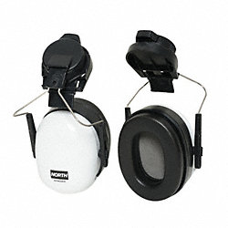 Ear Muff, Cap Mount, 23dB, Black/White, PR