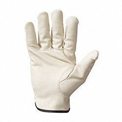 Leather Drivers Gloves, M, PR
