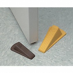 Doorstop Wedge, Red, 4-3/4 In. L