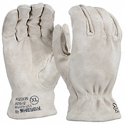 Heat Resistant Gloves, Buttermilk, XL, PR