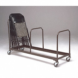 Chair Caddy Support, Adj, Blk, 20-1/2x1x24