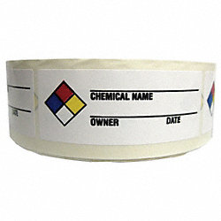 NFR Label, 1-1/2 In. H, Paper, PK 1000