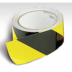 Tape, Reflective, Stripe Yellow/Black, 4x30