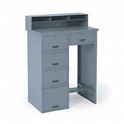 Shop Desk, 5 Drawer