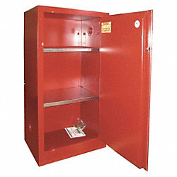 Paints and Inks Cabinet, 20 Gal., Red