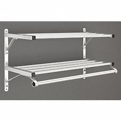 COAT HANGER BAR 2 SHELF 13X36 GLARO