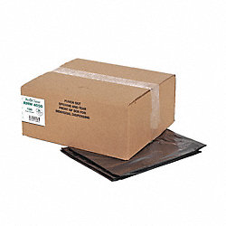 Recycled Can Liner, 33 gal., Black, PK100
