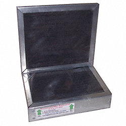 Carbon Filter, Filtered Workstation, Pk 2