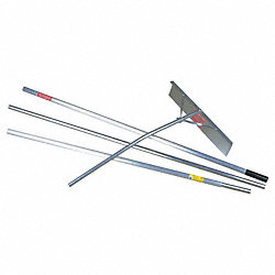 Snow Roof Rake, 16 Ft, 24 In Blade Size