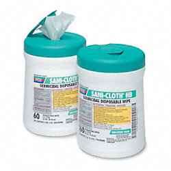 Disinfecting Wipes, Size 8 x 14 In.