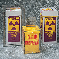 Radioactive Waste Bag, 38 In. L, PK 100
