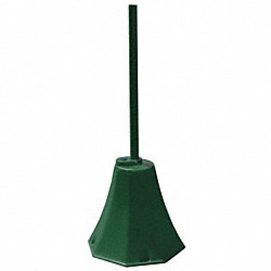 Sign Base, Polyethylene, Green