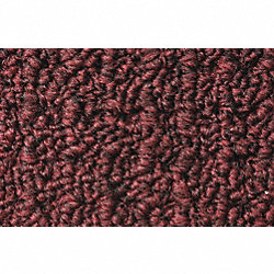 Entrance Mat, Brown, 3/8 In, 3 x 5 ft