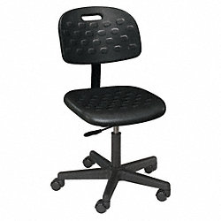 Value-Line Seating Stool, 18in-23in, Blk
