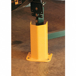 Pallet Rack Protector, 12 in. H, Yellow