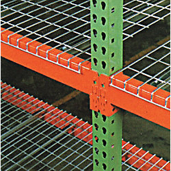 Pallet Rack Beam, 120L x 58W x 42D, Orange