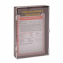 GROUP LOCKOUT BOX PROCEDURE BLACK PC