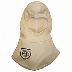 Fire Hood, Universal, 13 In L, Gold, HRC 2