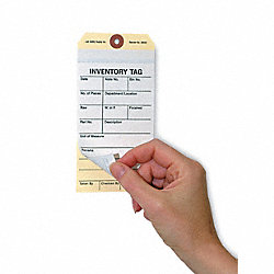 Inspection Tag, Cardstock, Inventory, PK100